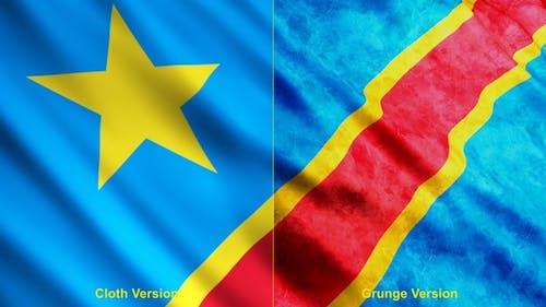 Democratic Republic Of The Congo Flags