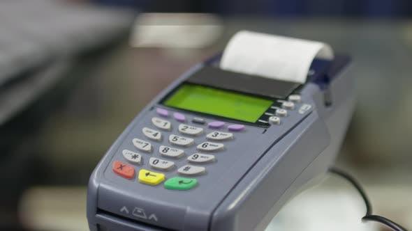 Contactless Payment on Credit Card Terminal