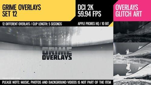 Grime Overlays (2K Set 12)