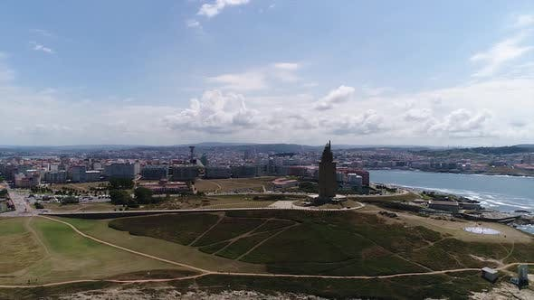 Thumbnail for Aerial View of Coruna, Spain