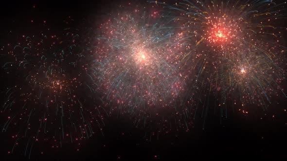 4k  Reality Firework Loop