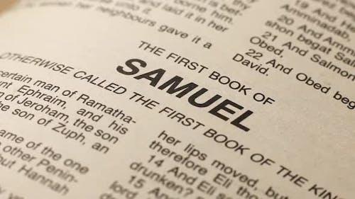 Holy Bible Book Of Samuel