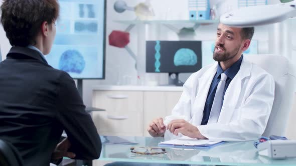 Thumbnail for Doctor Talking with a Patient