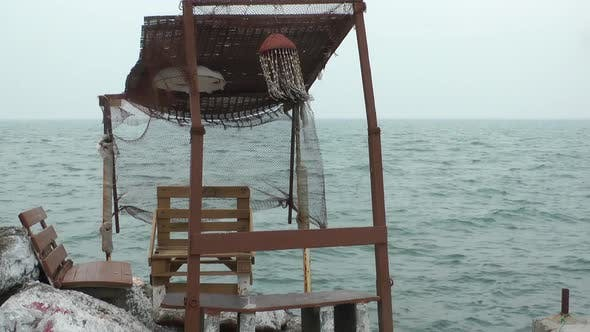 Thumbnail for Wooden Historical Fisherman Building Shelter And Sea