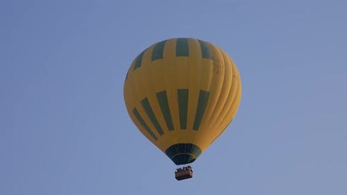 Hot Air Baloon Flying in Sky