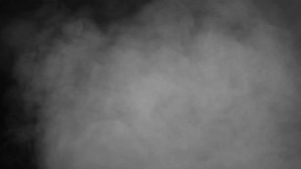 Thumbnail for White Smoke On Black Background
