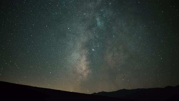 Night Sky Milky Way Time Lapse