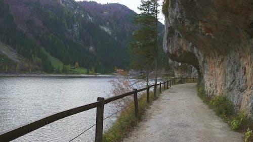 Walking Along Austrian Lake 2