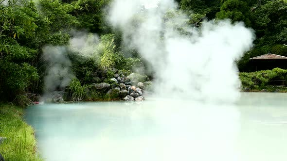 Thumbnail for Hot spring in Beppu Oita
