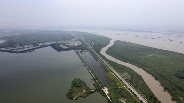 The Changjiang River, Asia
