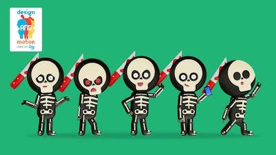 D&M Character Kit Tiny: Skeleton Costume