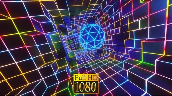 Vj Loop Neon Hole HD