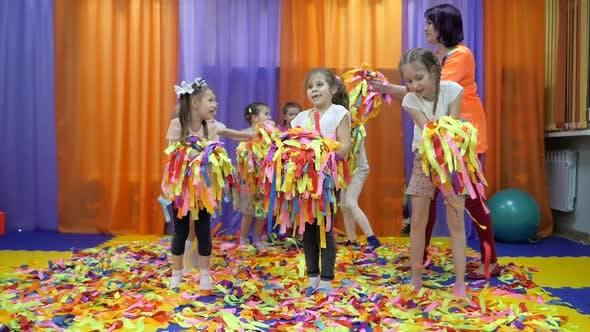 Thumbnail for Children's Playroom. Paper Show for Children