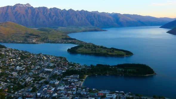 Thumbnail for Queenstown New Zealand Twilight