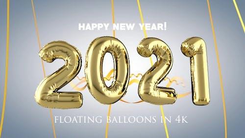 Überhöhte Neujahrs-Ballone 2021