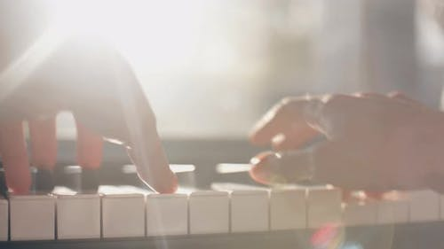 Playing On The Piano