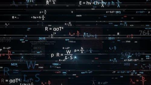 Blocks of abstract mathematical formulas