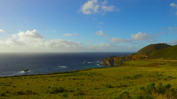 Beautiful View of Big Sur Coast in California 18