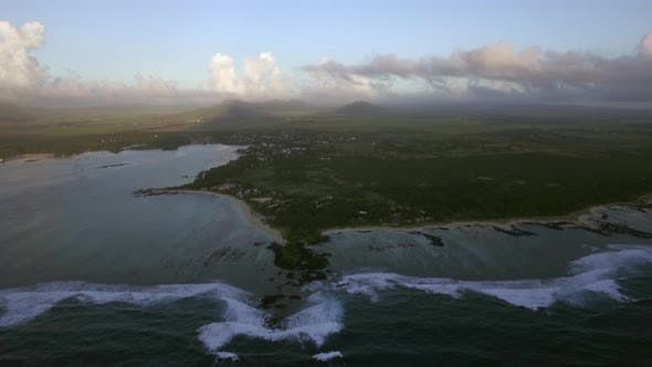 Thumbnail for Mauritius Island, Aerial View