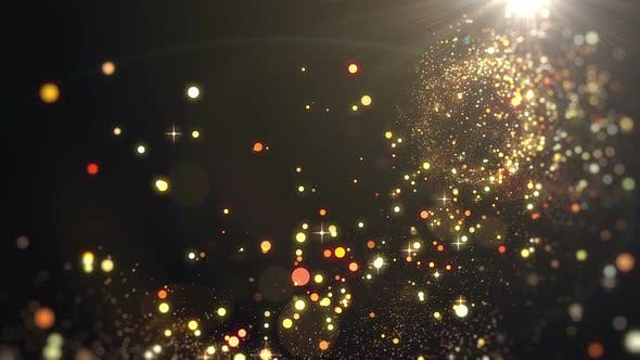 Thumbnail for Lights Glittering Particle