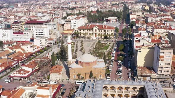 Thumbnail for Mosque And City Aerial View 8