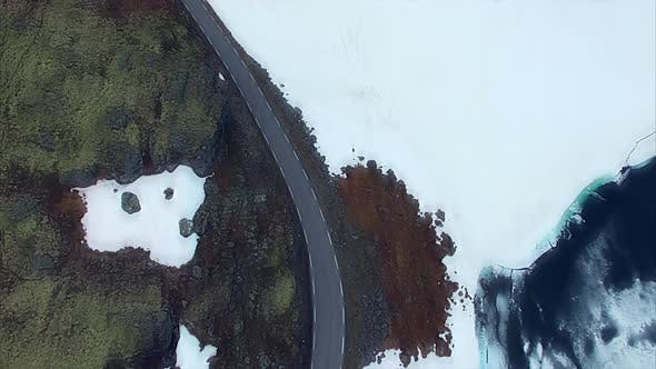 Thumbnail for Norwegian national tourist route Aurlandsfjellet.