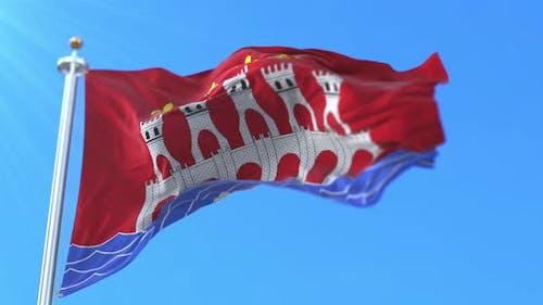 Flag of Lot, France