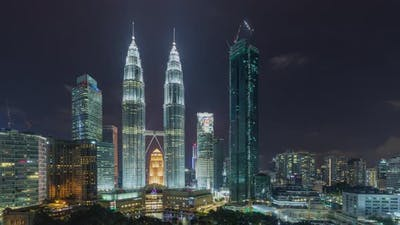 Time Lapse of the Kuala Lumpur Skyline