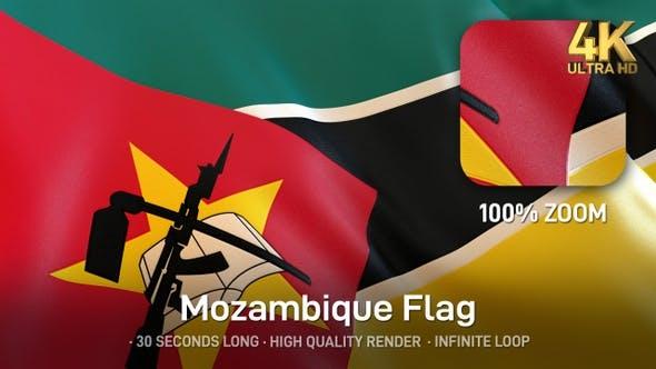 Thumbnail for Mozambique Flag - 4K