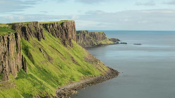 Thumbnail for Timelapse of a Scotland coastline