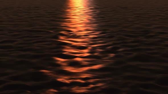 Thumbnail for Gold Sunset Sea