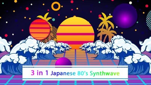 Thumbnail for Japanische 80er Jahre Synthwave