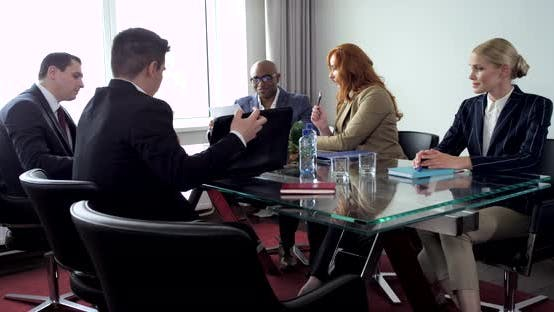 Thumbnail for Businessmen are Discusing of the Project in the Meeting Room