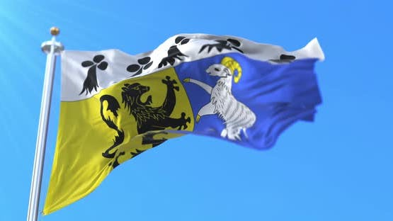 Flag of Department of Finistere, France