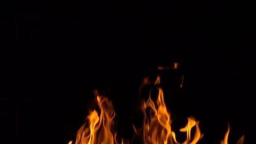 Medium Intensity Fire