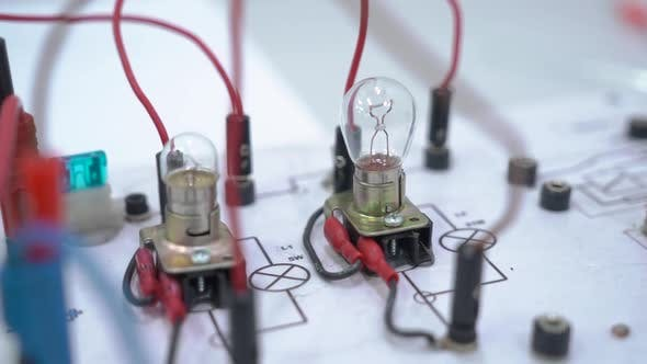 Thumbnail for Electric Lamp Circuit