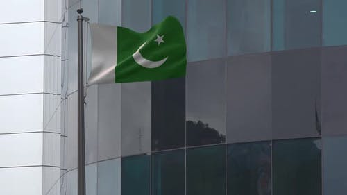 Pakistan Flag Background 2K