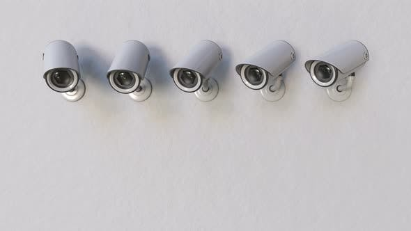 Thumbnail for Multiple Surveillance or CCTV Cameras