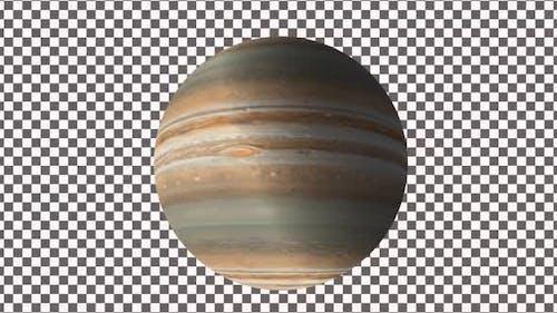 Planet Jupiter With Alpha
