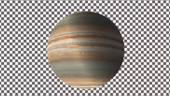 Thumbnail for Planet Jupiter With Alpha