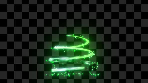 Chiristmas Light Tree