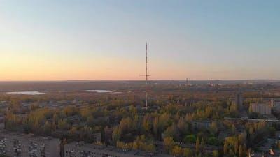 Old TV Tower Landscape