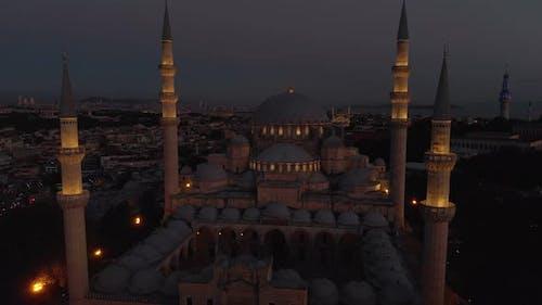 Suleymaniye Mosque in the Istanbul