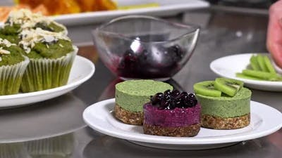 Servings of Delicious Desserts