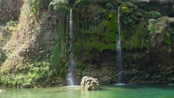 Thumbnail for Beautiful Tropical Waterfall. Philippines, Luzon