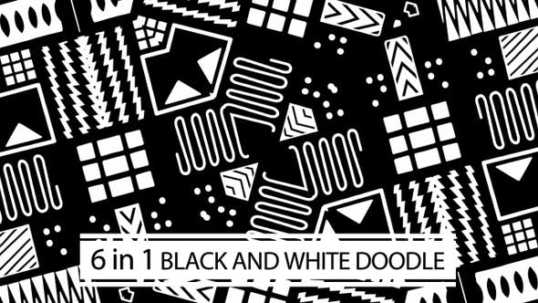 Thumbnail for Black And White Doodle Vol.01