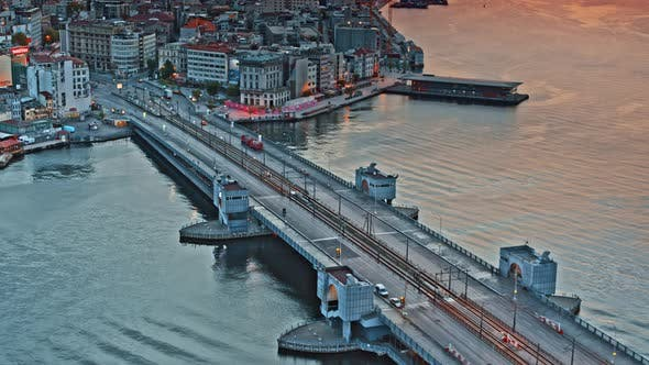 Thumbnail for Galata Bridge Over Golden Horn