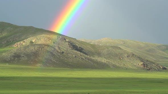 Dense Rainbow in Treeless Hill