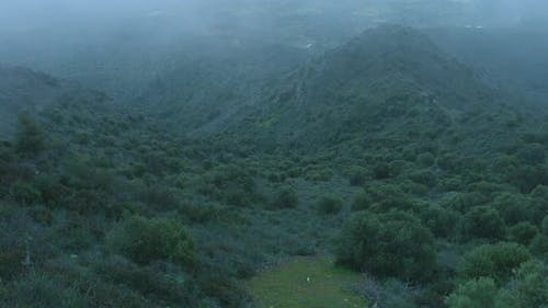 Mist Covering Mountains Timelapse, Weird Place, Mysterious Atmosphere, Thriller