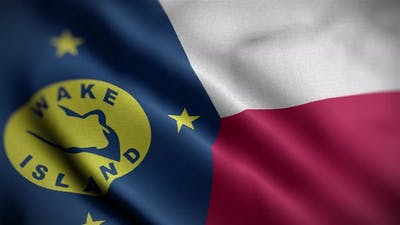 Wake Island Flag Angle